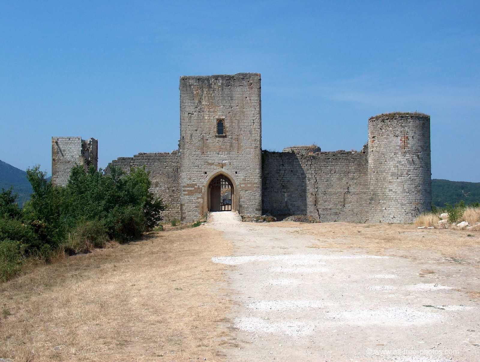 Il Castello cataro di Puivert