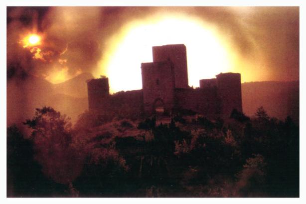 La fortezza di Puivert